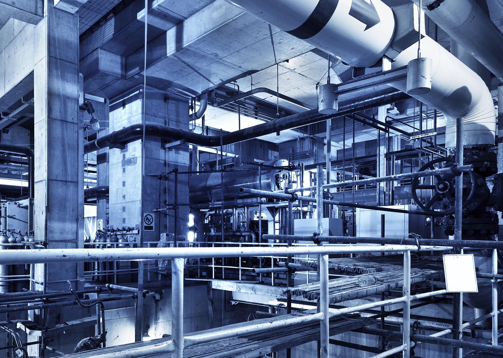 006 Boiler Room Equipment Sander Mechanical Service