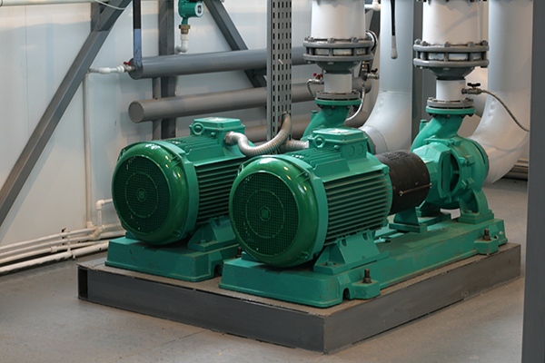 Pumps Controlled by Variable Frequency Drives - VFDs