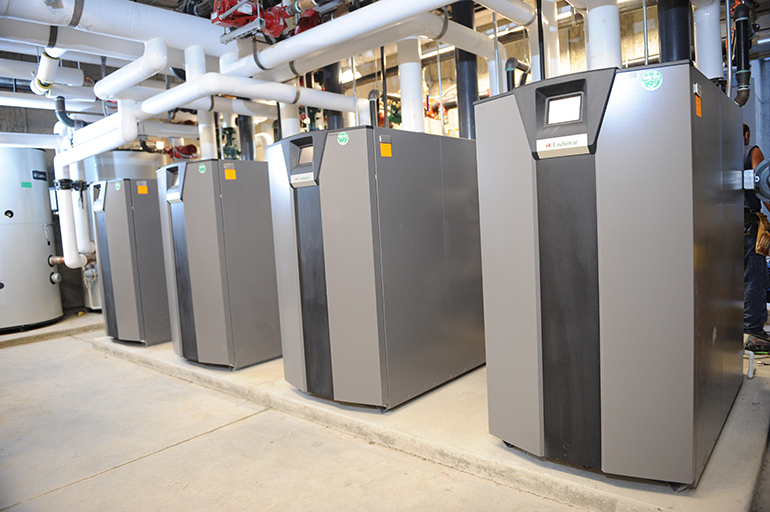 Commercial HVAC Installation - Lochinvar Boilers