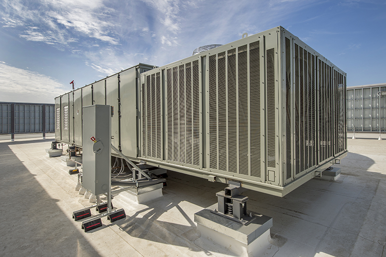 Commercial HVAC Installation - Package Rooftop Units