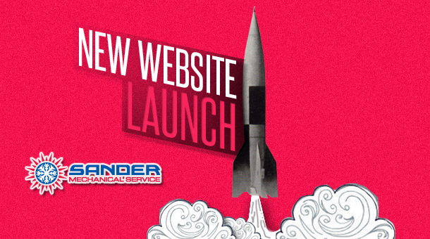 Sander Mechanical's New Website Launch