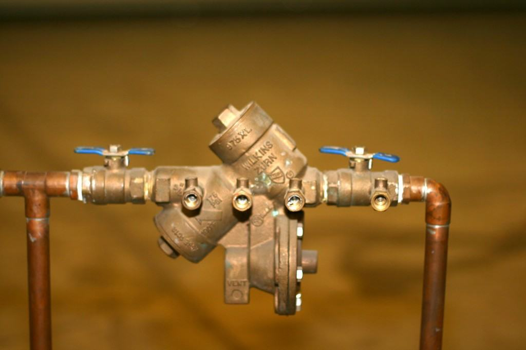Backflow Preventer Assembly