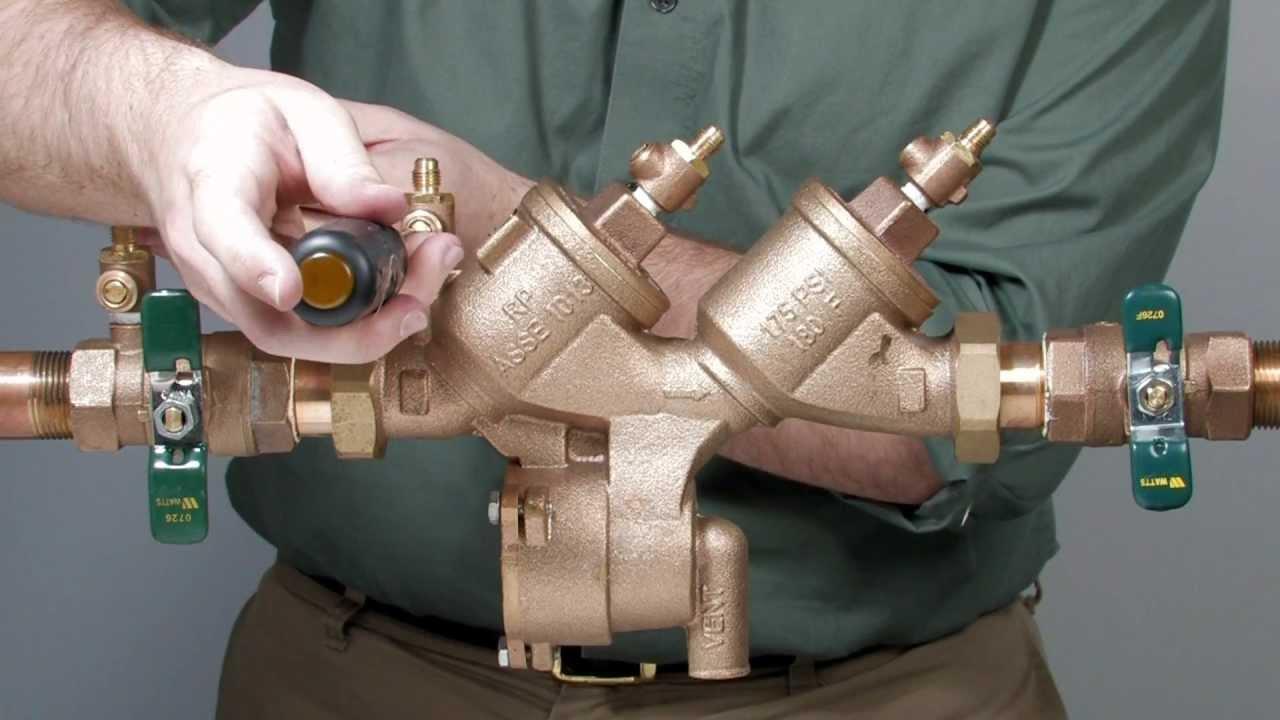 Backflow Preventer Repairs
