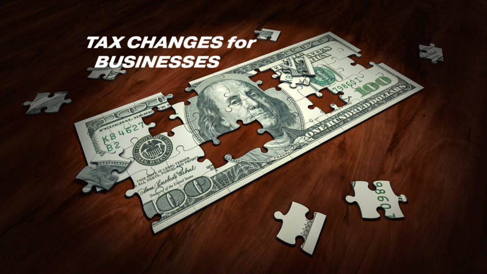 Tax Changes for Businesses