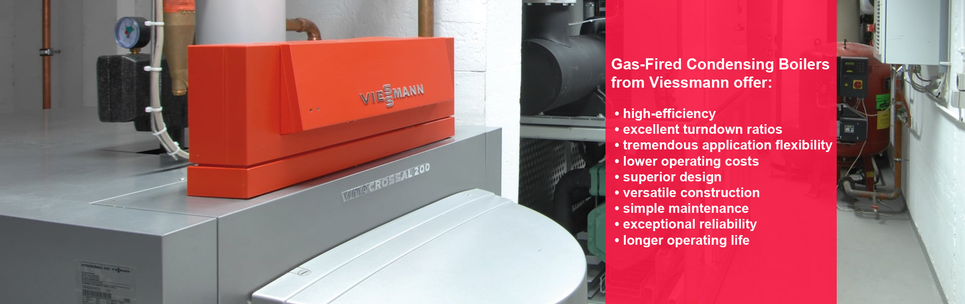 Viessmann Boiler Advantages