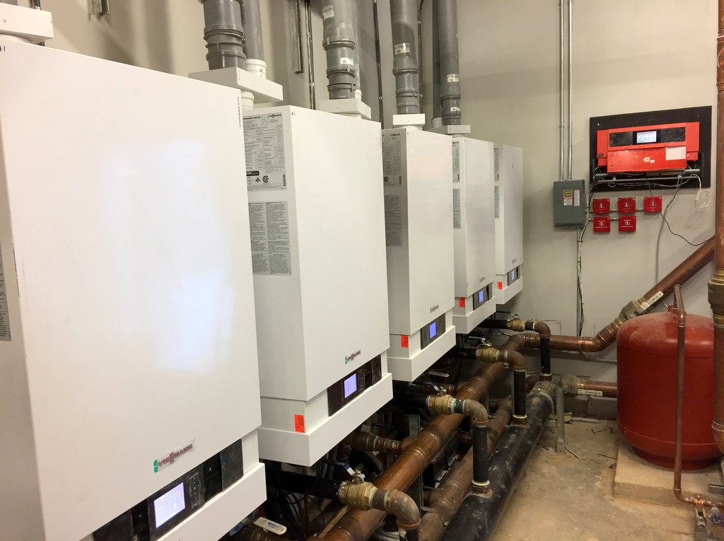 Commercial Boiler Installation With Viessmann Sander