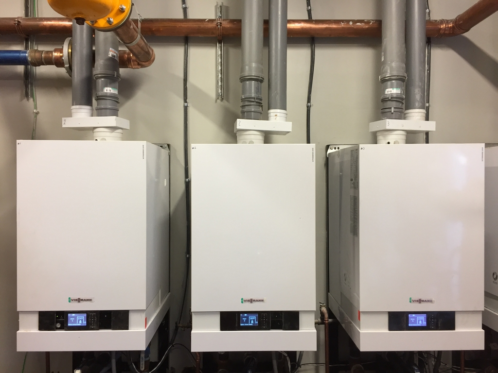 Commercial Boiler Installation with Viessmann | Sander Mechanical ...
