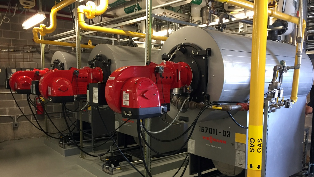 Commercial Boiler Installation with Viessmann